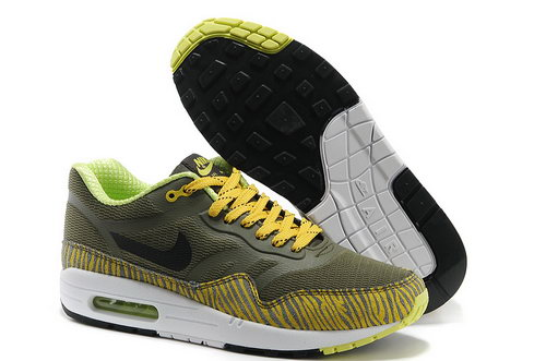 Nike Wmns Air Max 1 Cmft Prm Tape Men Brown Yellow Running Shoes Greece
