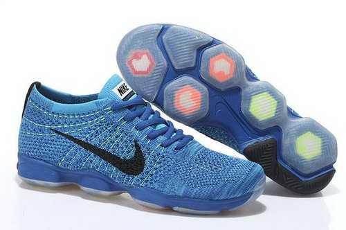 Nike Flyknit Agility Mens Shoes Ocean Blue Black Coupon Code