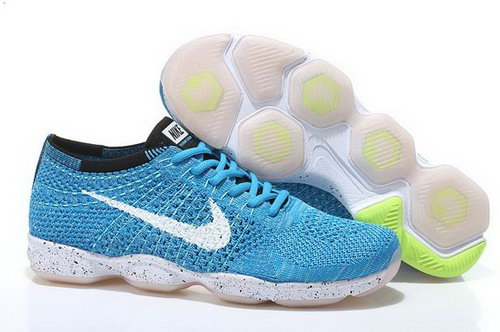 Nike Flyknit Agility Mens Shoes Sky Blue White Switzerland