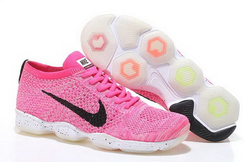 Nike Flyknit Agility Womens Shoes Pink Black White Portugal