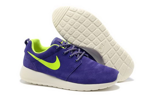Online To Buy Nike Wmns Roshe Running Shoes Wool Skin For Sale Purple Yellow Portugal