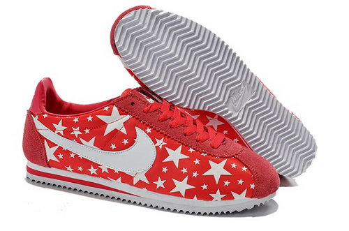 Wmns Classic Cortez Nylon Shoes Glowing Star Red White Ireland