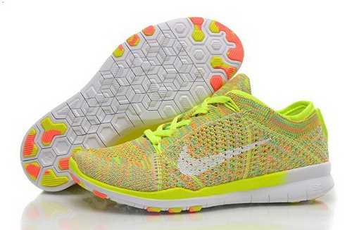 Wmns Nike Free Tr Flyknit 5.0 Womens Shoes Lemo Yellow White Orange New Hot Promo Code