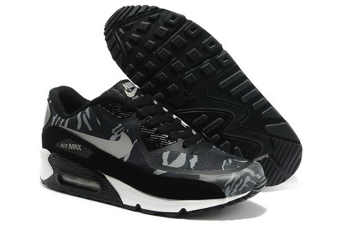 Wmns Nike Air Max 90 Prem Tape Sn Men Gray And Black Running Shoes Factory