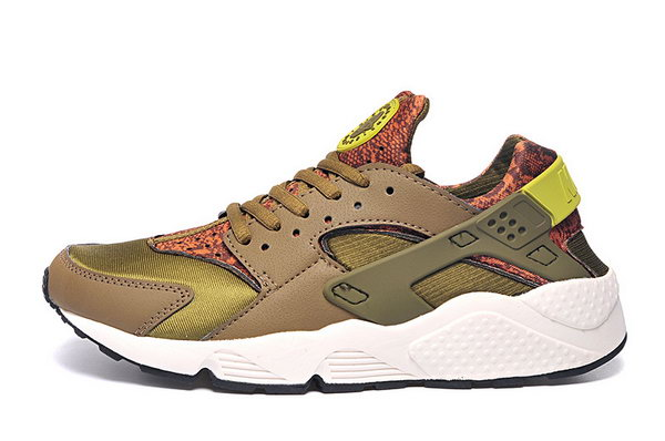 Womens & Mens (unisex) Nike Air Huarache Brown Green 36-45 Outlet Store