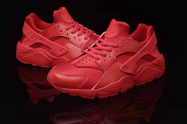 Womens & Mens (unisex) Nike Air Huarache All Red 36-46 Clearance