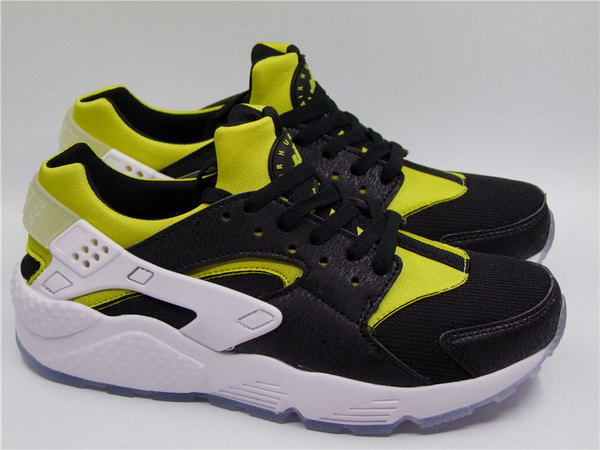 Womens & Mens (unisex) Nike Air Huarache Black Yellow White 36-45 Low Cost