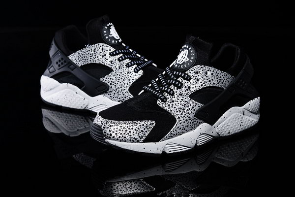 Womens & Mens (unisex) Nike Air Huarache Black Crack Explosion 36-46 Best Price