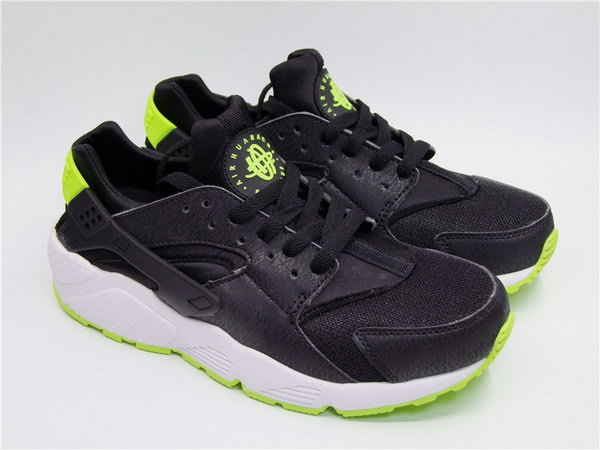 Womens & Mens (unisex) Nike Air Huarache Black Green 36-45 Discount