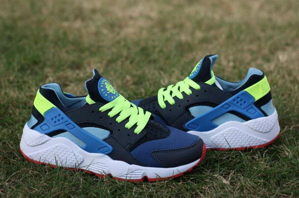 Womens & Mens (unisex) Nike Air Huarache Blue Green 36-45 Inexpensive