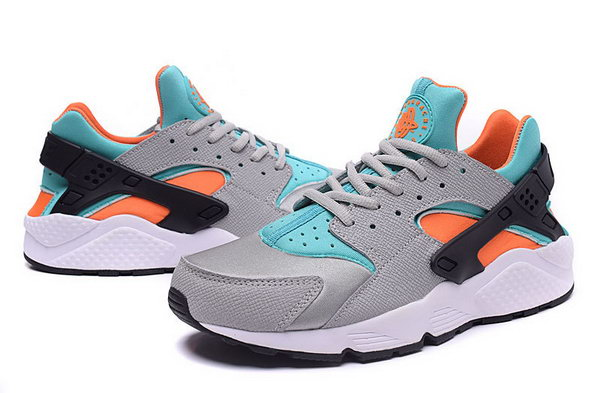 Womens & Mens (unisex) Nike Air Huarache Grey Orange Blue 36-46 For Sale