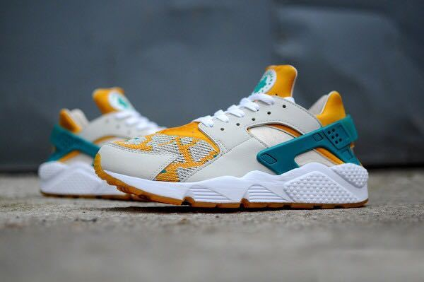 Womens & Mens (unisex) Nike Air Huarache Grey Yellow Green Tiger 36-46 Online Store