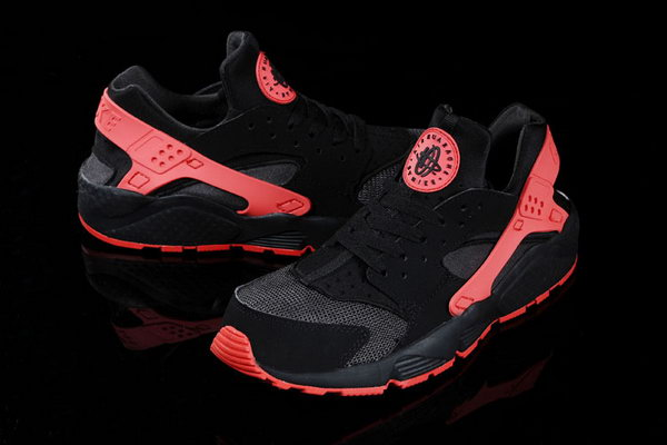 Womens & Mens (unisex) Nike Air Huarache Red Black 36-46 Korea