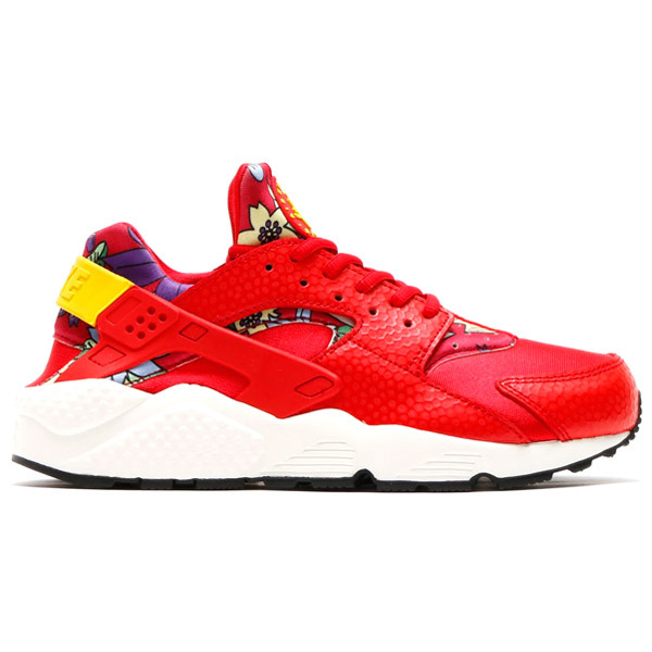 Womens & Mens (unisex) Nike Air Huarache Red Floral 36-44 Closeout