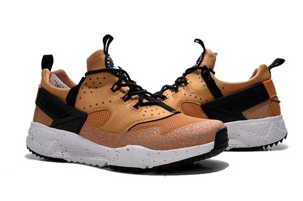 Womens & Mens (unisex) Nike Air Huarache Utility Gold Black 36-45 Korea