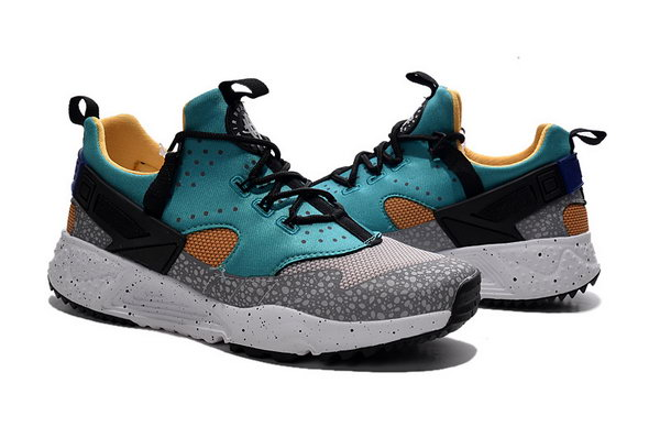 Womens & Mens (unisex) Nike Air Huarache Utility Grey Green Black 36-45 Closeout