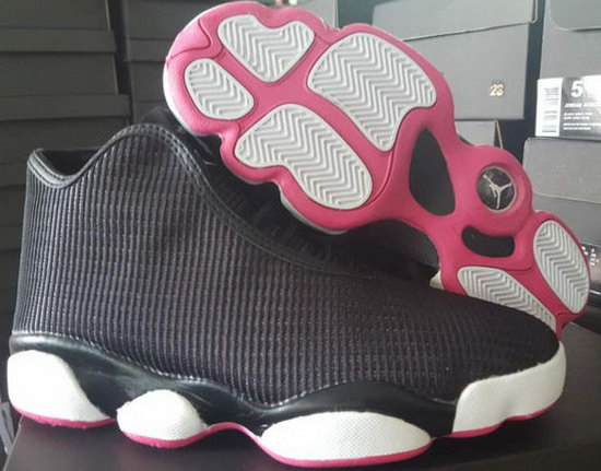 Womens Air Jordan Horizon Black Pink Denmark