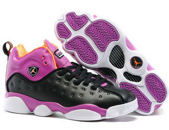 Womens Air Jordan Jumpman Team Gs Purple Black Australia