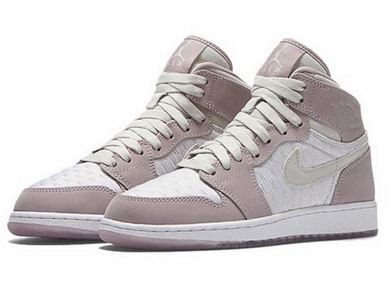 Womens Air Jordan Retro 1 Cherry Blossoms Pink White Online