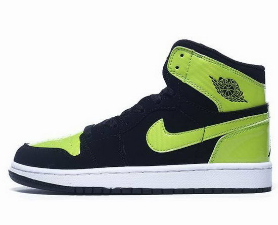 Womens Air Jordan Retro 1 Green Dark Blue Taiwan