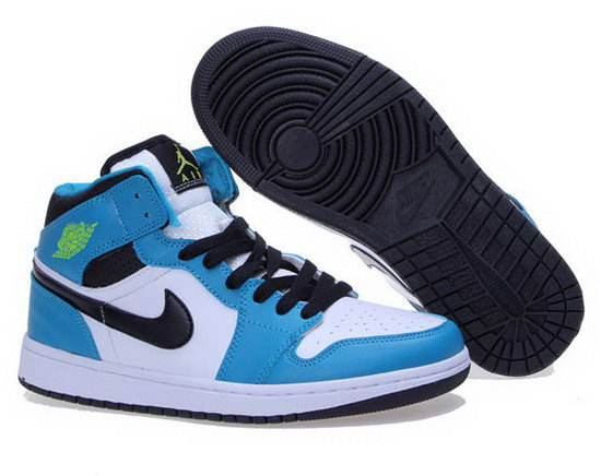 Womens Air Jordan Retro 1 Jade White Black Germany