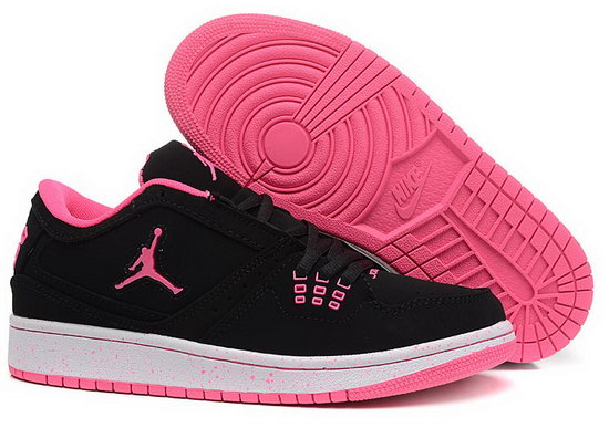 Womens Air Jordan Retro 1 Low Black Pink Review