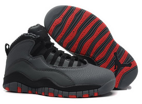 Womens Air Jordan Retro 10 Grey Black Red Ireland
