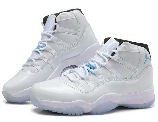 Womens Air Jordan Retro 11 All White Online