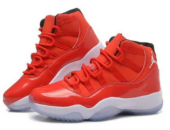 Womens Air Jordan Retro 11 Big Red Hong Kong