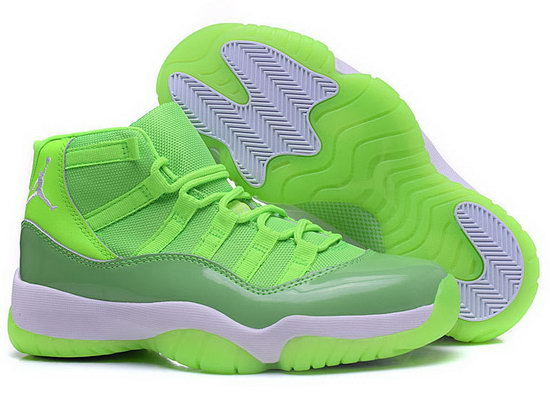 Womens Air Jordan Retro 11 Fluorescent Green Norway