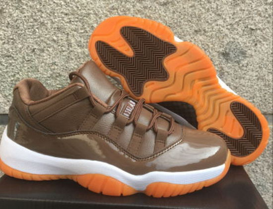 Womens Air Jordan Retro 11 Low Chocolate New Zealand