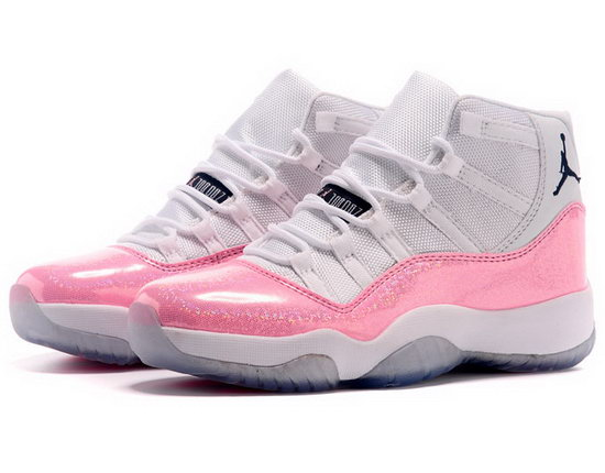 Womens Air Jordan Retro 11 White Water Red Online Store