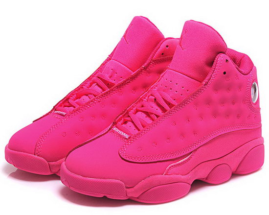 Womens Air Jordan Retro 13 All Pink Discount Code