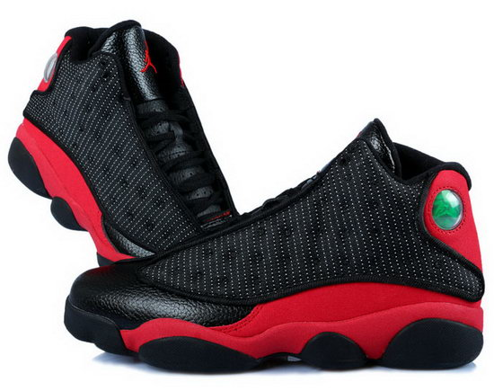 Womens Air Jordan Retro 13 Black Red Factory Store