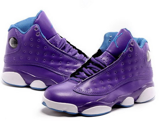 Womens Air Jordan Retro 13 Purple Taiwan
