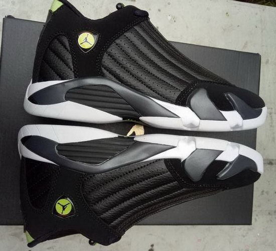 Womens Air Jordan Retro 14 Black Czech