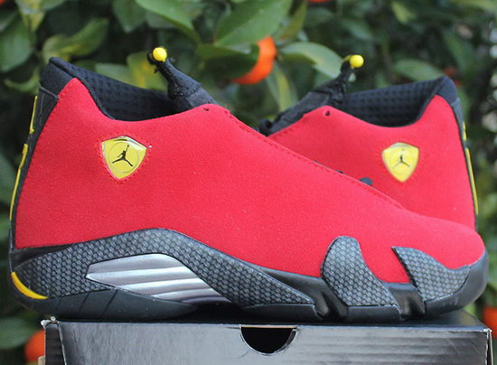 Womens Air Jordan Retro 14 Red Black Best Price