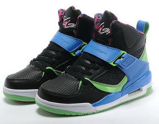 Womens Air Jordan Retro 4.5 Black Blue Green Usa