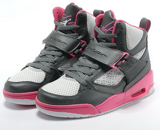Womens Air Jordan Retro 4.5 Grey White Pink Clearance