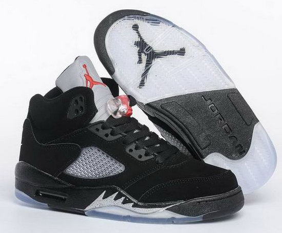 Womens Air Jordan Retro 5 Black White Review