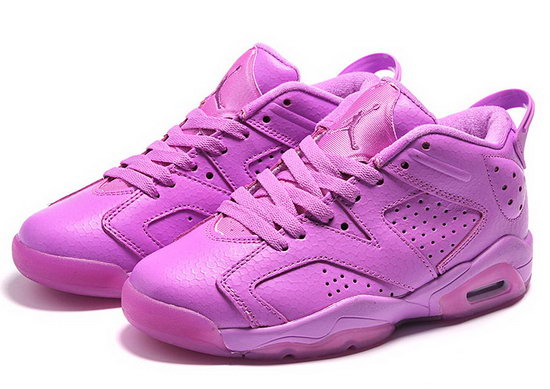Womens Air Jordan Retro 6 All Purple Online Shop