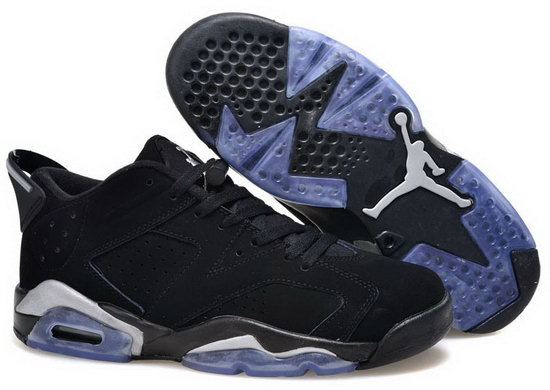 Womens Air Jordan Retro 6 Black Coupon