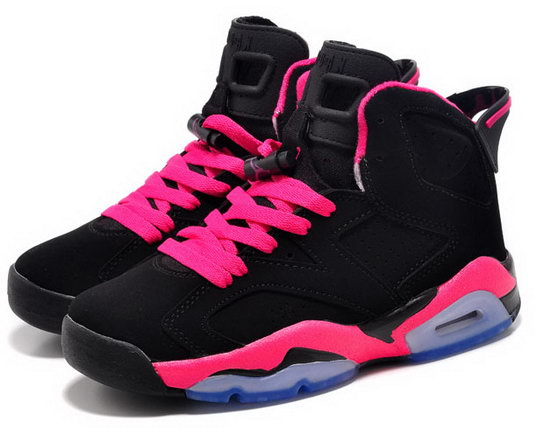Womens Air Jordan Retro 6 Pink Black Pink Poland