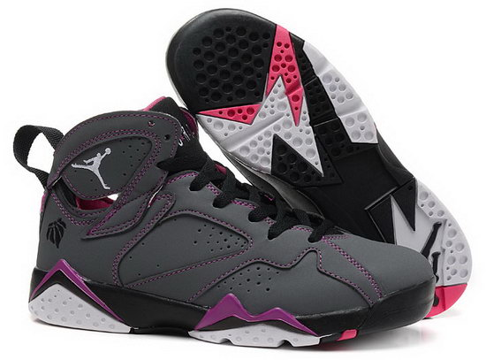 Womens Air Jordan Retro 7 Grey Purple Japan
