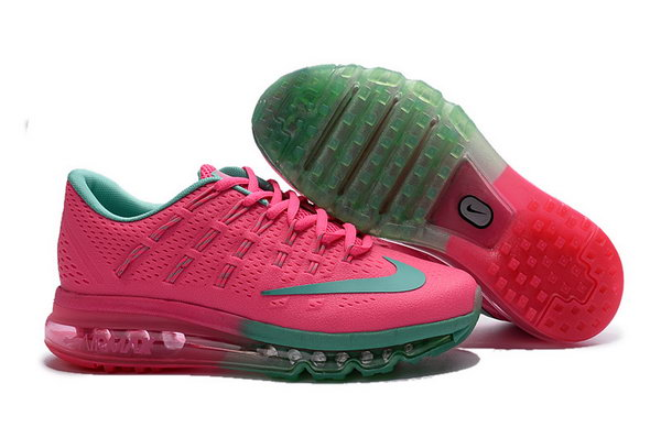 Womens Air Max 2016 Green Pink Shoes Online