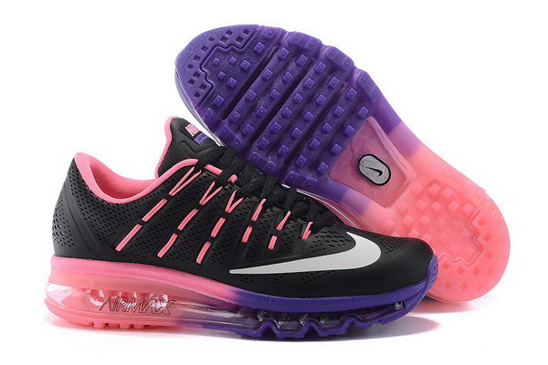 Womens Air Max 2016 Leather Purple Pink Black Taiwan