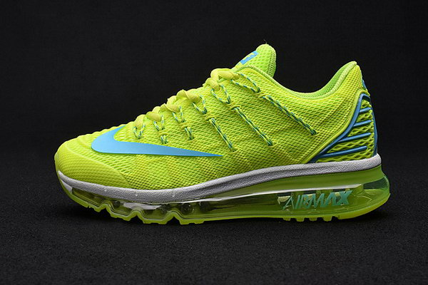 Womens Air Max 2016 Premium Fluorescent Green Low Price