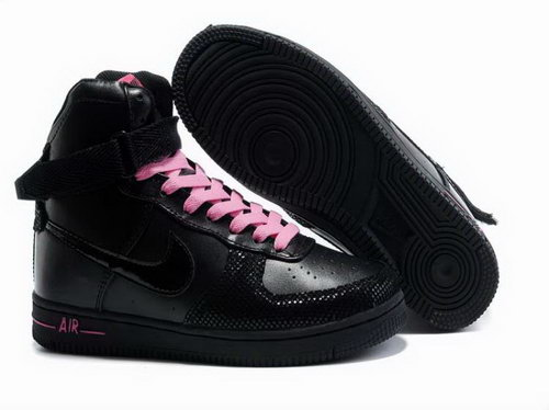 Womens Nike Air Feather High Wns Black Pink Poland