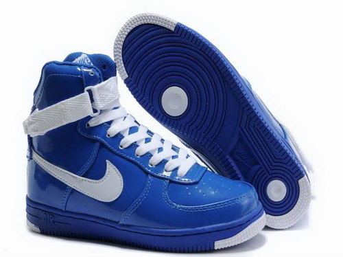 Womens Nike Air Feather High Wns Blue White Coupon Code