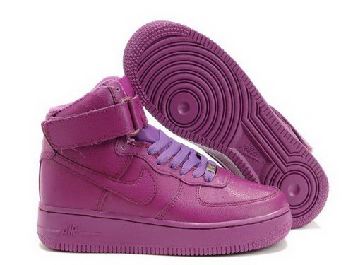 Womens Nike Air Force 1 25th High Shoes All Purple Portugal
